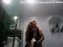 woman peeing