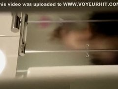 Husband secretly films wife taking shower