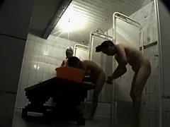 Asian women spied in shower room