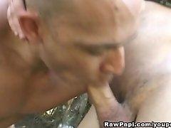 Amazing Latino Gay Anal Bareback Fucking