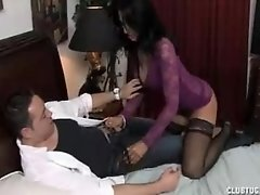 Milf Is Delayed By The Horny Neighbor Guy With His Cock