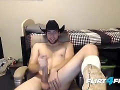 Derrick Pipe is One Hung Cowboy