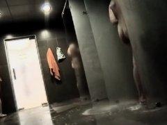 Hot girls in the locker room showers