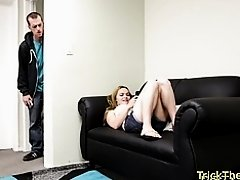 Busty euro cheats on her bf and gets screwed