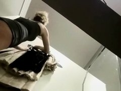 Teen caught in change room trying new clothes