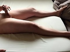 Me cumming in bed