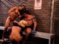 Horny Starlets Tag Team Hung Man