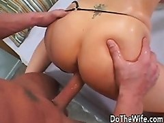 wife takes big dick in front of husband