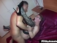 Big cocks Gigolo! Anal sex for desperate housewife!