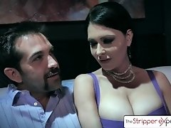 The Stripper Experience - Jessica Jaymes & Silvia Saige fucking a big dick