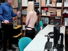 ShopLyfter - Thief Gets Boned In Back Office