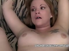 Busty MILF Marleigh Ann takes a cock in her plump pussy