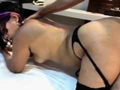 HUBBY FILMS WIFE GETTING FUCKED IN HOTEL