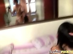 Amateur Latina gets pounded in doggy style