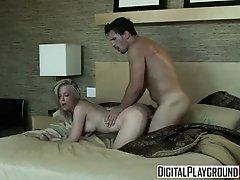 Digital Playground - Dirty blonde Kayden Kross & Manuel Ferrara Fuck in a hotel room