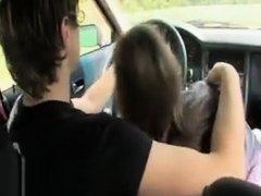 18yo Croatian Girl Fucked On The Car