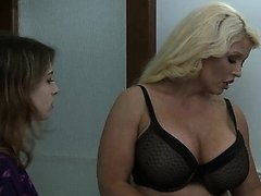 Teen attracted to sexy MILF