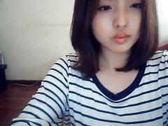 korean girl on web cam