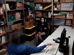 Student thief fucked by store security
