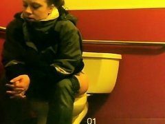 Woman spied by hidden camera pissing