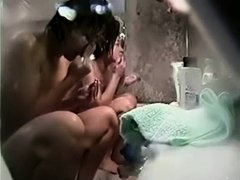 Asian women in a public bath