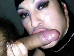 Older sissy sucking