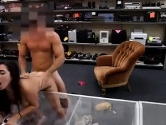 College girl twat rammed at the pawnshop