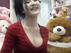 Asian girl sexy dance