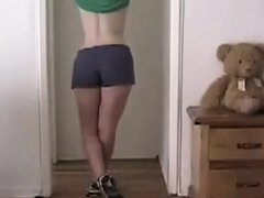 this babe wont show her face but her body is astonishing great masturbation scene