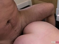 Thick Stepsister rides cock