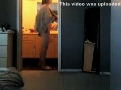 Girlfreind caught on cam