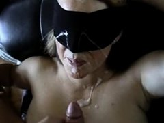 Treating my wife to a large facial