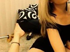 Hottest webcam MILF, Shaved clip with temptation82 girl.