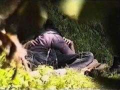 Juvenile Pair Surprised In Park During Sex On Voyeur Camera