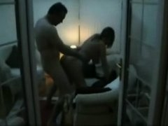 Mature married pair fucking on camera