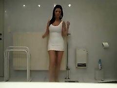 Superlatively Good twerking web camera solo clip