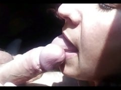 Russian MILF sucked cock!