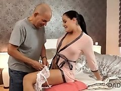 DADDY4K. Daddy of lazy boyfriend is more passionate in bed with babe Dolly|2::Teens,4::Blowjob,38::HD,47::Young and Old,2311::Step Fantasy