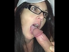 Babysitter is a Dirty little COCKSUCKER!!!
