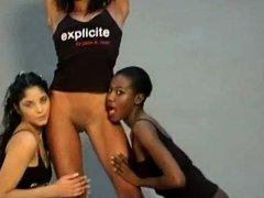 Crazy Amateur clip with Ebony scenes