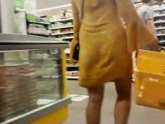 Upskirt and upshorts of two hot women