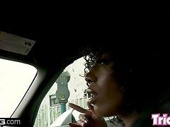 Trickery - Ebony babe Misty Stone gets fucked by a BBC