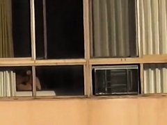 Naked mature woman spied in bedroom bed