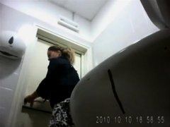 Public bathroom hidden camera compilation