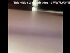 Cute blonde's pissing spied completely