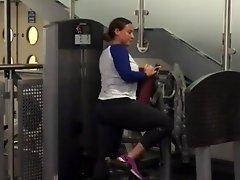 Leggings milf workout