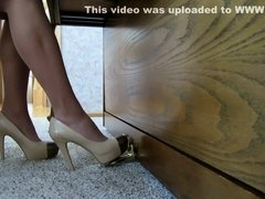 Crazy homemade Foot Fetish adult clip