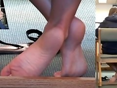 Candid College Girl Feet!