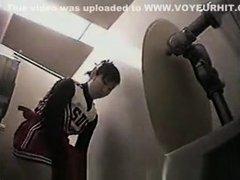 Cheerleader in Toilet 2