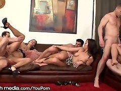 MileHigh Double Penetration Swingers Party
